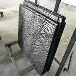 恒大专款艺术玻璃 夹丝玻璃 工艺夹胶玻璃