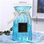 歐式創意玻璃花瓶桌面裝飾大號花瓶