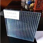 条纹夹丝玻璃 装饰隔断夹丝玻璃 屏风装饰