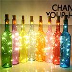 创意beplay官方授权瓶发光许愿瓶木塞装饰瓶