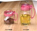 玻璃瓶調味品瓶廚房用品醬油瓶套裝