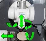 四軸聯動微型氧化鋯鈦合金加工銑床電主軸德國品牌Jager