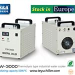 S&A water-cooled chiller CW-3000 AC220V,