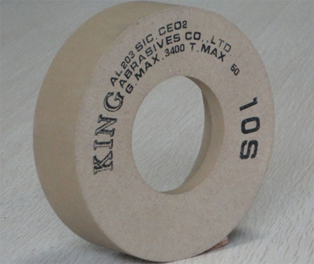 HIGH GRADE FLAT GLASS POLISHING WHEELS.