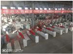 温州生产中空内置百叶帘片机  磁控百叶帘片门窗加工成套设备厂