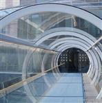 超長超大熱彎鋼化幕墻玻璃/廣州卓越特種玻璃