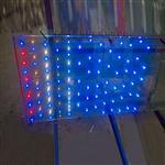 玻璃內鑲LED燈珠發光玻璃/廣州卓越特種玻璃