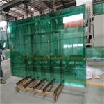 广东玻璃厂批发3-20mm透明浮法玻璃原片