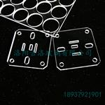 激光加工超小圆形玻璃片,直径2mm,厚度1mm