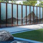 园林专用夹山水画玻璃 屏风夹山水画玻璃 同民
