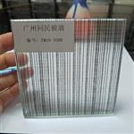广州夹丝玻璃 夹绢玻璃 钢化夹丝玻璃