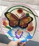 彩绘热熔玻璃盘子