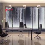 广州富景玻璃有限公司背景墙夹山水画玻璃10mm厚可来图定制