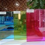 彩色夹胶玻供应隔断玻璃供应厂家