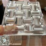 廣州藝術裝飾水晶立體熱熔玻璃