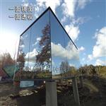 單向透視鋼化玻璃