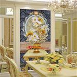酒店隔断背景艺术玻璃供应商广州富景玻璃