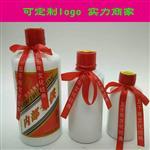 文水县南武乡玻璃瓶500ml厂-青-吕梁圆形酒瓶200ml厂