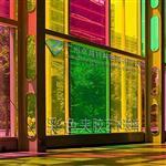 廣州彩色夾膠鋼化玻璃