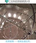 廣州卓越特玻鋼化夾膠防滑玻璃