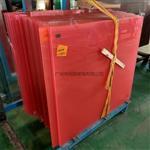 彩色护栏钢化夹胶玻璃 粉红色夹胶玻璃 透明彩色玻璃