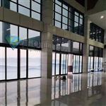 廣州卓越特玻水墨山水智能霧化變色玻璃