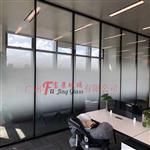 广州富景玻璃有限公司渐变玻璃供应 磨砂白渐变玻璃