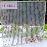 广州富景玻璃有限公司供应艺术夹胶玻璃夹丝玻璃