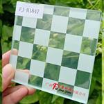 广州富景玻璃夹丝玻璃特点夹丝玻璃作用