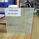 广州夹丝玻璃 淋浴房夹丝玻璃 售楼部屏风夹丝钢化玻璃