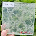 夹丝玻璃隔断酒店背景夹丝玻璃广州富景玻璃有限公司供应