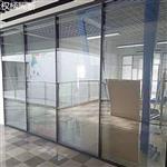 北京办公楼高隔间百叶玻璃隔断