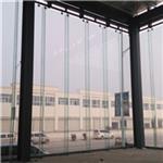 湖北鄂州恩施15毫米商场防火弯钢化超白玻璃