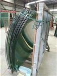 厂家直销特殊形状弯弧弯钢玻璃 高难度弧形热弯玻璃
