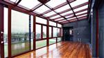 安裝采陽光房采光頂電動遮陽系統