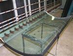 厂家直销异形弯钢玻璃 高难度弧形热弯玻璃