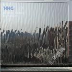 金波纹压花玻璃 艺术玻璃门窗玻璃 装修玻璃 镶嵌玻璃