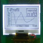 電磁流量計顯示屏12864液晶屏HTG12864C