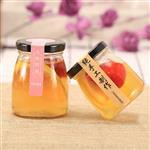 玻璃瓶黄桃罐头瓶耐高温马口铁盖子空瓶