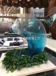 叠层景观玻璃雕塑