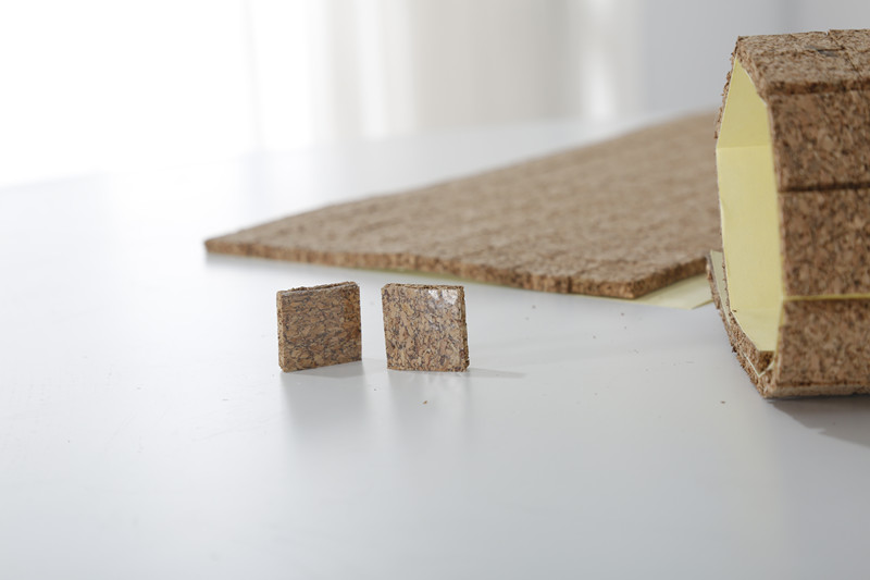 adhesive cork pad