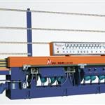 glass straight line mitre edging machine
