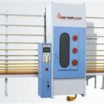 vertical glass sandblasting machine