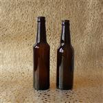 330毫升棕色啤酒瓶自酿酒分装瓶咖啡饮料瓶