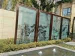 武汉山水画玻璃隔断