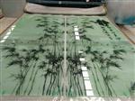 湖北山水画玻璃装饰