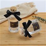 玻璃瓶香熏瓶藤条插花瓶桌面装饰挥发瓶