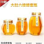 千亿国际966瓶大肚6楞蜂蜜瓶酱菜瓶食品密封瓶
