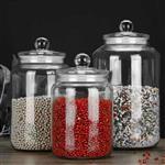 玻璃瓶密封储物罐杂粮密封瓶茶叶罐糖果存储罐