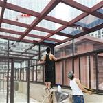 福州玻璃贴膜别墅阳光房贴玻璃隔热防晒膜